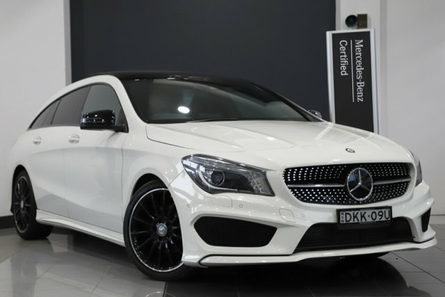 Used Mercedes-Benz CLA200 Shooting Brake DCT, Narellan, 2015 Mercedes-Benz CLA200 Shooting Brake DCT Wagon