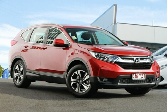 Demonstrator, Demo, Near New Honda CR-V VTi FWD, Indooroopilly, 2019 Honda CR-V VTi FWD Wagon