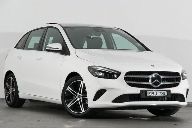Demonstrator, Demo, Near New Mercedes-Benz B180 DCT, Campbelltown, 2019 Mercedes-Benz B180 DCT Hatchback