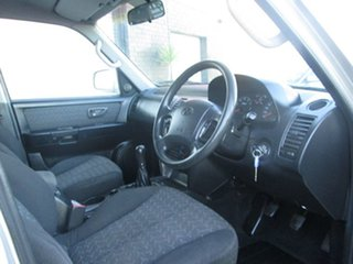 2002 Hyundai Terracan 4WD Wagon.