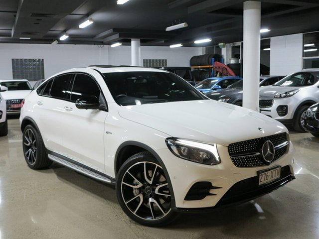 Used Mercedes-Benz GLC43 AMG Coupe 9G-Tronic 4MATIC, Albion, 2017 Mercedes-Benz GLC43 AMG Coupe 9G-Tronic 4MATIC Wagon