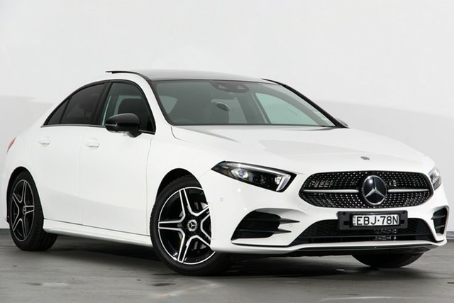 Demonstrator, Demo, Near New Mercedes-Benz A200 D-CT, Campbelltown, 2019 Mercedes-Benz A200 D-CT Sedan