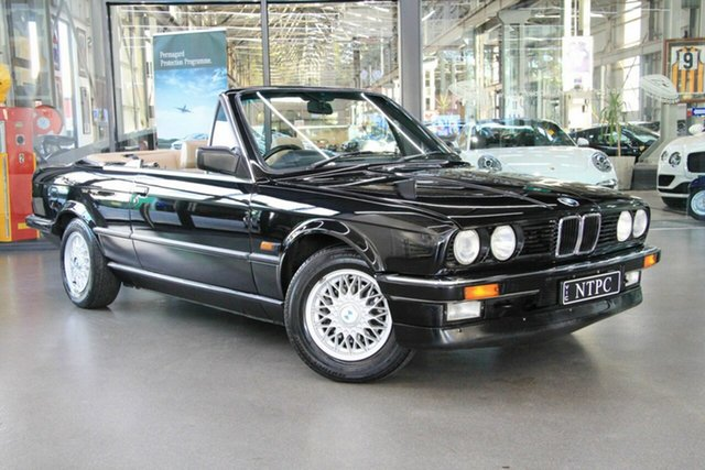 Used BMW 320i, North Melbourne, 1988 BMW 320i Convertible