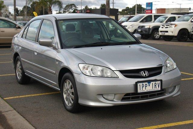 Used Honda Civic GLi, Cheltenham, 2005 Honda Civic GLi Sedan