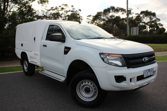 Used Ford Ranger XL 4x2 Hi-Rider, Officer, 2015 Ford Ranger XL 4x2 Hi-Rider Cab Chassis