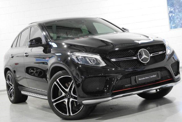 Used Mercedes-Benz GLE43 AMG Coupe 9G-Tronic 4MATIC, Warwick Farm, 2017 Mercedes-Benz GLE43 AMG Coupe 9G-Tronic 4MATIC Wagon