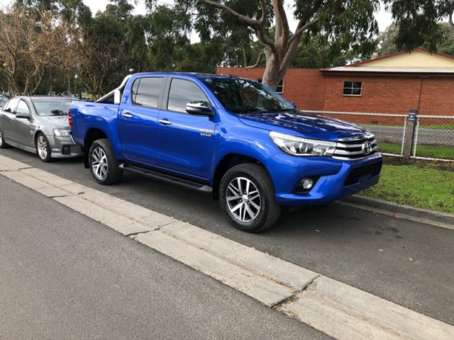 Used Toyota Hilux SR5 Double Cab, Cranbourne, 2016 Toyota Hilux SR5 Double Cab Utility