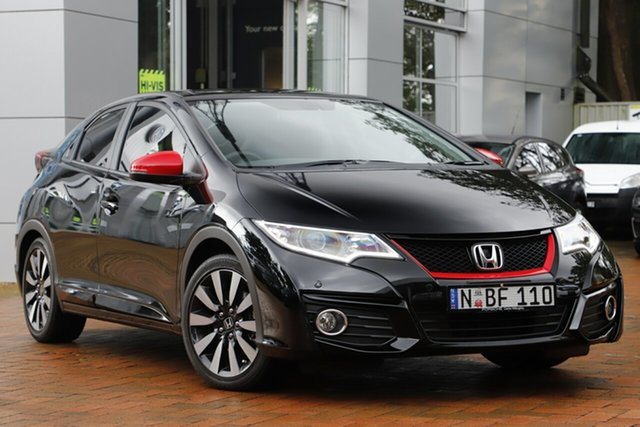 Used Honda Civic VTi-LN, Artarmon, 2016 Honda Civic VTi-LN Hatchback