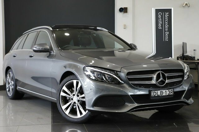 Used Mercedes-Benz C200 Estate 7G-Tronic +, Warwick Farm, 2016 Mercedes-Benz C200 Estate 7G-Tronic + Wagon