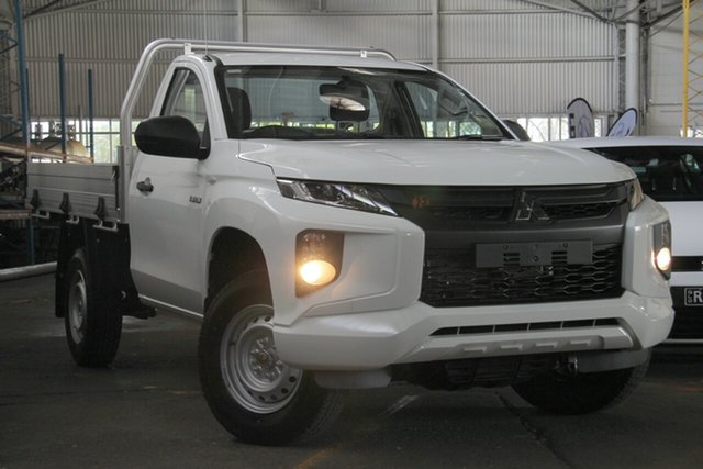 Demonstrator, Demo, Near New Mitsubishi Triton GLX, Bowen Hills, 2019 Mitsubishi Triton GLX Cab Chassis