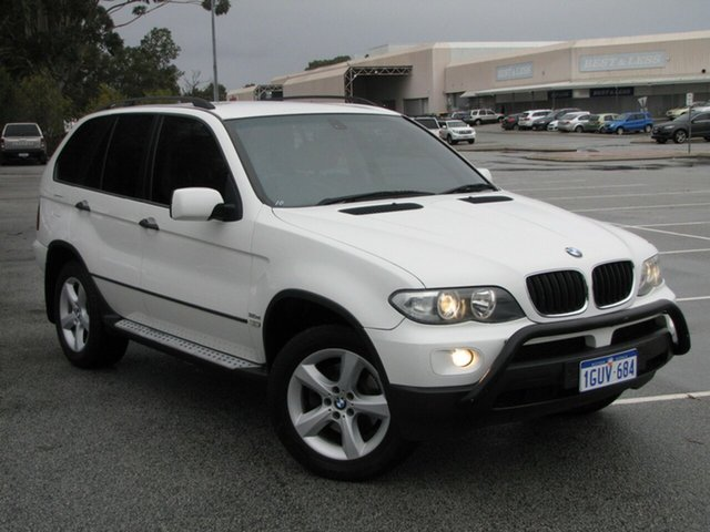 Used BMW X5 d Steptronic, Maddington, 2005 BMW X5 d Steptronic Wagon