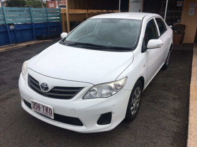 Used Toyota Corolla Ascent, North Rockhampton, 2010 Toyota Corolla Ascent Sedan
