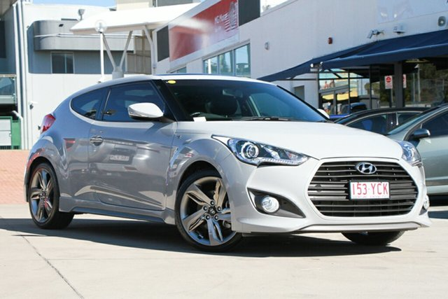 Used Hyundai Veloster SR Coupe Turbo, Indooroopilly, 2013 Hyundai Veloster SR Coupe Turbo Hatchback