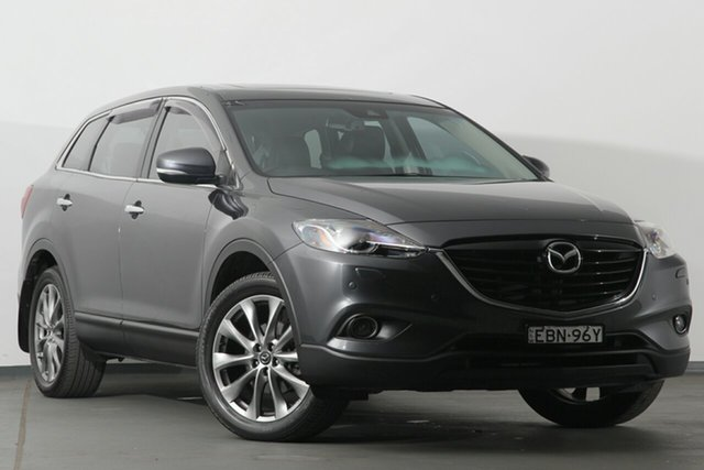 Discounted Used Mazda CX-9 Grand Touring Activematic AWD, Warwick Farm, 2015 Mazda CX-9 Grand Touring Activematic AWD SUV
