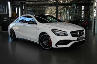 2018 Mercedes-Benz CLA45 AMG SPEEDSHIFT DCT 4MATIC Coupe.