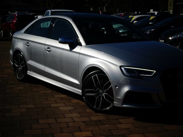 Discounted Used Audi S3 S Tronic Quattro, Narellan, 2017 Audi S3 S Tronic Quattro Sedan