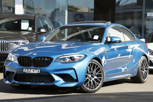 Demonstrator, Demo, Near New BMW M2 Competition, Brookvale, 2019 BMW M2 Competition Coupe