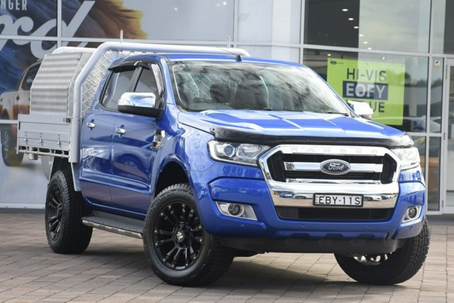 Used Ford Ranger XLT Double Cab 4x2 Hi-Rider, Narellan, 2017 Ford Ranger XLT Double Cab 4x2 Hi-Rider Utility