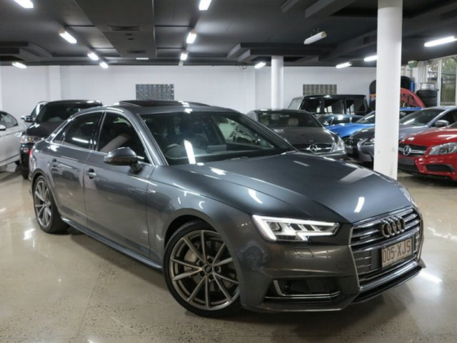 Used Audi A4 Sport S Tronic Quattro, Albion, 2016 Audi A4 Sport S Tronic Quattro Sedan
