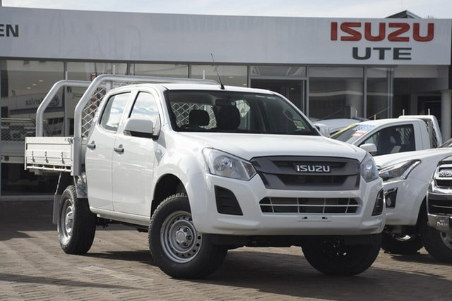 Discounted New Isuzu D-MAX SX Crew Cab 4x2 High Ride, Narellan, 2019 Isuzu D-MAX SX Crew Cab 4x2 High Ride Cab Chassis