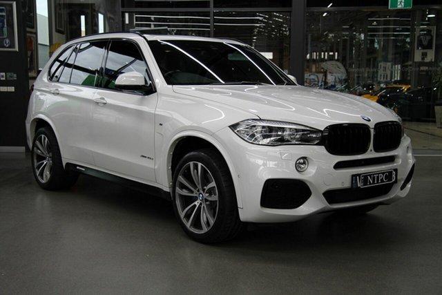 Used BMW X5 xDrive40d, North Melbourne, 2015 BMW X5 xDrive40d Wagon