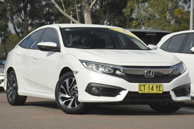 Used Honda Civic VTi-S, Warwick Farm, 2016 Honda Civic VTi-S Sedan