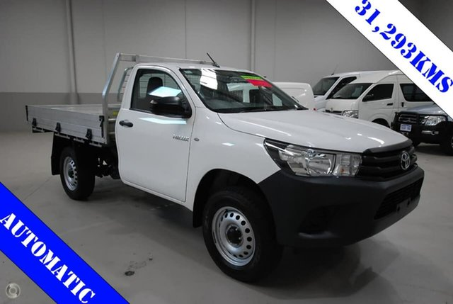 Used Toyota Hilux Workmate, Kenwick, 2016 Toyota Hilux Workmate Cab Chassis