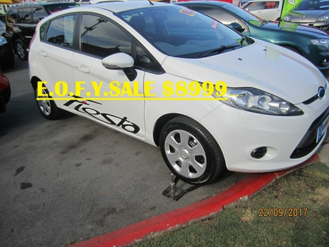 Used Ford Fiesta CL, Capalaba, 2011 Ford Fiesta CL Hatchback