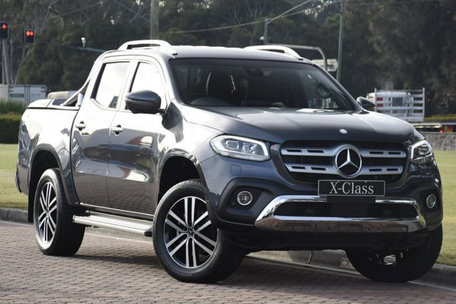 Discounted Demonstrator, Demo, Near New Mercedes-Benz X-Class X250d 4MATIC Power, Narellan, 2018 Mercedes-Benz X-Class X250d 4MATIC Power Utility