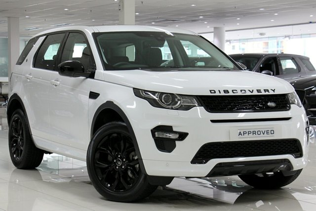 Used Land Rover Discovery Sport SD4 (177kW) HSE 5 Seat, Concord, 2017 Land Rover Discovery Sport SD4 (177kW) HSE 5 Seat Wagon