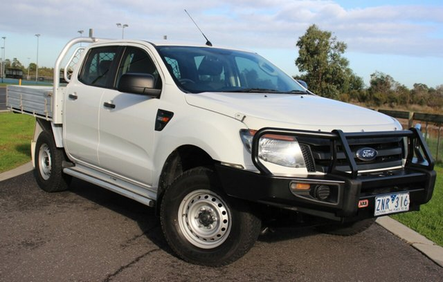 Used Ford Ranger XL Double Cab, Officer, 2013 Ford Ranger XL Double Cab Cab Chassis