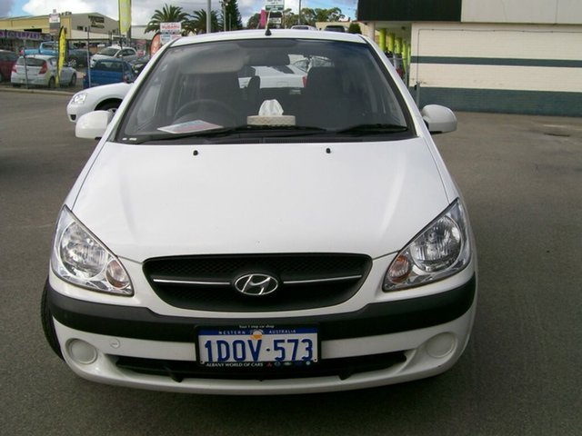 Used Hyundai Getz 5 door, Wangara, 2010 Hyundai Getz 5 door Hatchback