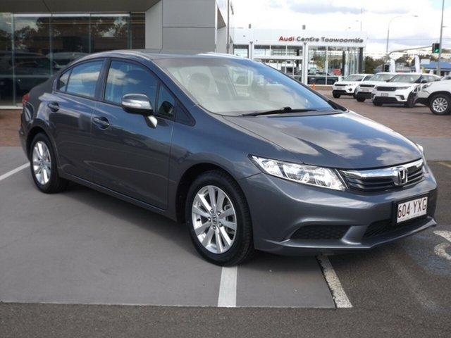 Used Honda Civic VTi-L, Toowoomba, 2012 Honda Civic VTi-L Sedan