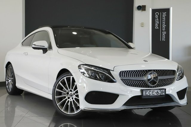 Used Mercedes-Benz C300 9G-Tronic, Southport, 2017 Mercedes-Benz C300 9G-Tronic Coupe
