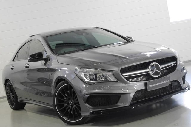Used Mercedes-Benz CLA45 AMG SPEEDSHIFT DCT 4MATIC, Narellan, 2016 Mercedes-Benz CLA45 AMG SPEEDSHIFT DCT 4MATIC Coupe