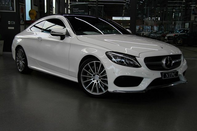 Used Mercedes-Benz C250 d 9G-Tronic, North Melbourne, 2016 Mercedes-Benz C250 d 9G-Tronic Coupe