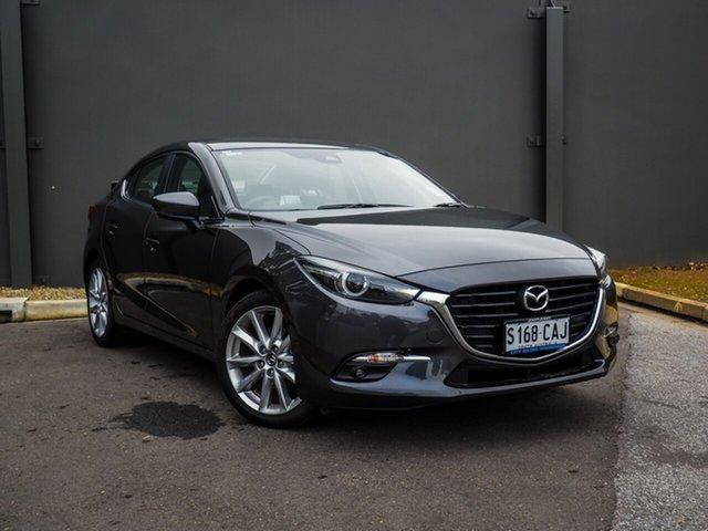 Demonstrator, Demo, Near New Mazda 3 SP25 SKYACTIV-Drive GT, Cheltenham, 2018 Mazda 3 SP25 SKYACTIV-Drive GT Sedan