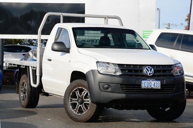 Used Volkswagen Amarok TDI400 (4x4), Mandurah, 2014 Volkswagen Amarok TDI400 (4x4) Cab Chassis