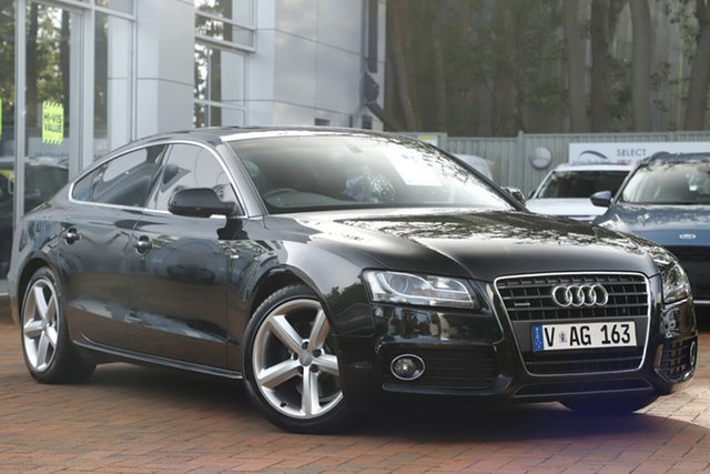 Used Audi A5 Sportback S Tronic Quattro, Southport, 2010 Audi A5 Sportback S Tronic Quattro Hatchback