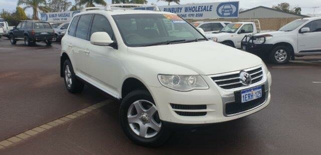 Discounted Used Volkswagen Touareg R5 TDI 4XMOTION, East Bunbury, 2008 Volkswagen Touareg R5 TDI 4XMOTION Wagon