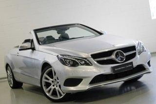2013 Mercedes-Benz E250 7G-Tronic + Cabriolet.