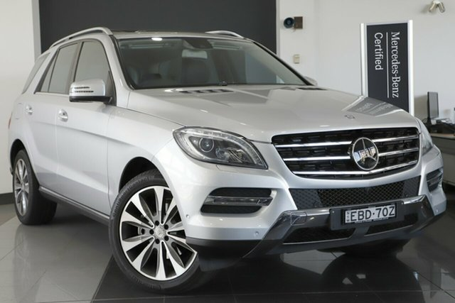Used Mercedes-Benz ML350 BlueTEC 7G-Tronic +, Narellan, 2013 Mercedes-Benz ML350 BlueTEC 7G-Tronic + Wagon