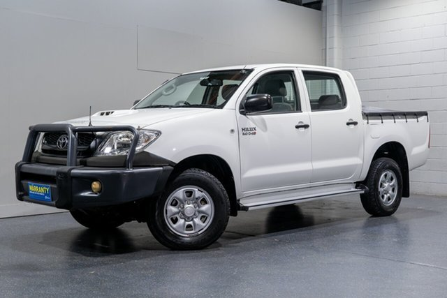 Used Toyota Hilux SR (4x4), Slacks Creek, 2010 Toyota Hilux SR (4x4) Dual Cab Pick-up