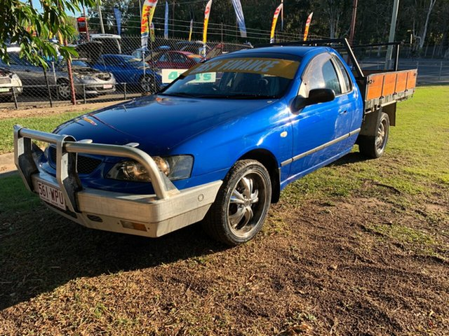 Used Ford Falcon XL, Clontarf, 2005 Ford Falcon XL Cab Chassis