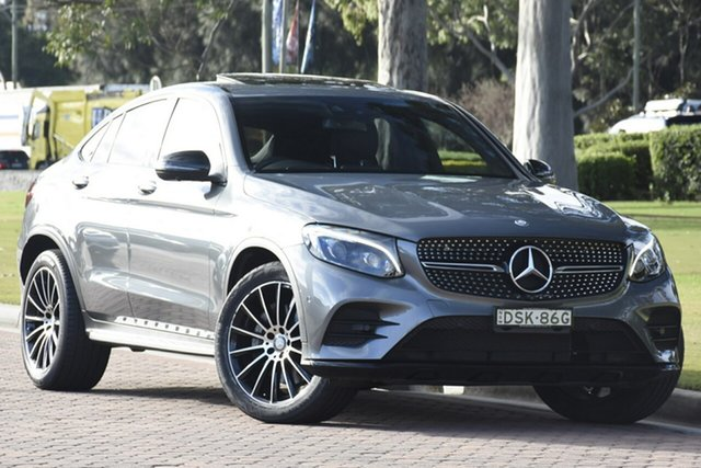 Discounted Used Mercedes-Benz GLC220 d Coupe 9G-Tronic 4MATIC, Warwick Farm, 2016 Mercedes-Benz GLC220 d Coupe 9G-Tronic 4MATIC SUV