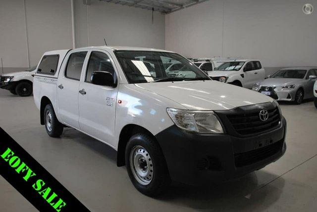 Used Toyota Hilux Workmate Double Cab 4x2, Kenwick, 2012 Toyota Hilux Workmate Double Cab 4x2 Utility