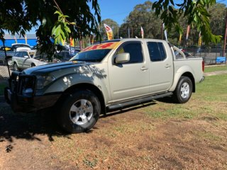 2010 Nissan Navara ST (4x4) Dual Cab Pick-up.