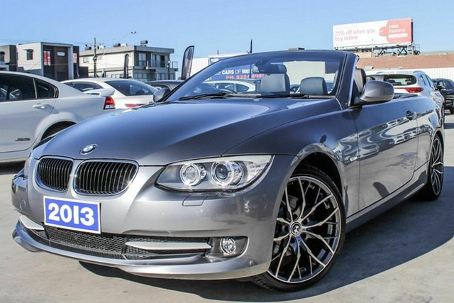 Discounted Used BMW 320d High-line Steptronic, Coburg North, 2013 BMW 320d High-line Steptronic Convertible