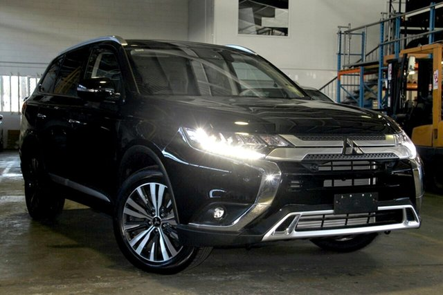Demonstrator, Demo, Near New Mitsubishi Outlander Exceed AWD, Bowen Hills, 2018 Mitsubishi Outlander Exceed AWD Wagon