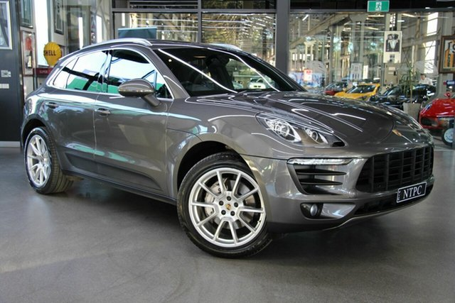 Used Porsche Macan S PDK AWD Diesel, North Melbourne, 2014 Porsche Macan S PDK AWD Diesel Wagon